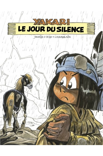 Derib, Yakari T.39, Le Jour du Silence, Version N&B, Ed As' Créations