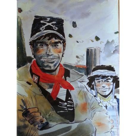 Catalogue d'exposition vente Hommage à Hugo Pratt