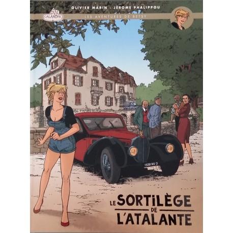 Marin.O, Phalippou.J, Les aventures de Betsy, T.01, Le Sortilège de l'Atlante, Tirage Luxe Editions Paquet