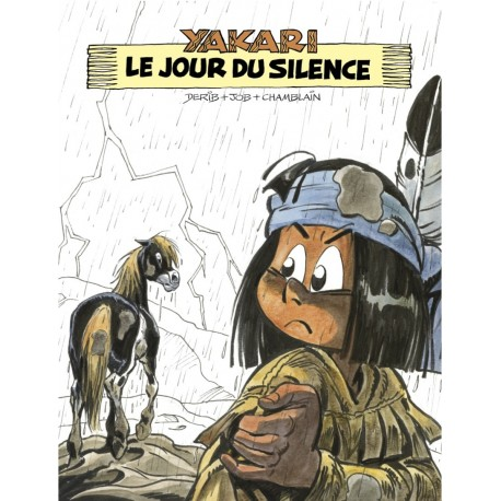Derib, Yakari T.39, Le Jour du Silence, Version N&B, Ed As' Créations