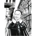 Jamar, Dufaux, Vincent, Un saint au temps des mousquetaires, Version N&B, Ed PerspectivesArt9