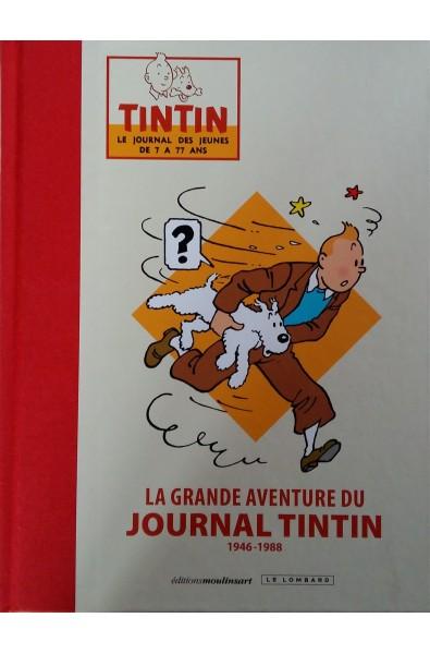 La Grande aventure du journal de Tintin Tirage Luxe, Editions Moulinsart & Le Lombard