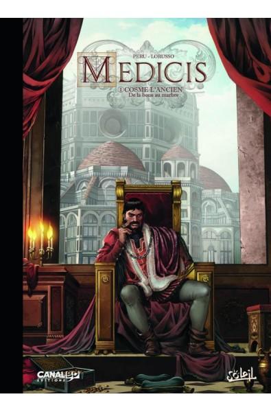 Peru, Lorusso, Medicis T.1 Cosme l'Ancien, Ed Soleil tirage Spécial CanalBD
