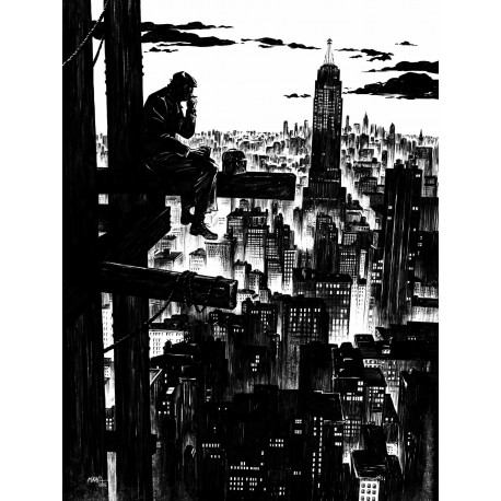 Mikaël, Giant T.1, N&B, Editions PerspectivesArt9