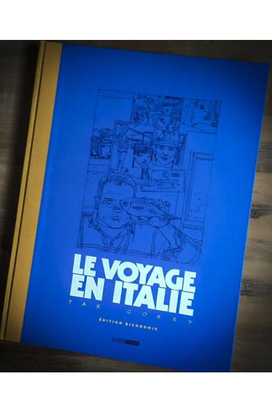 Cosey, Le Voyage en Italie, Version Bichromie, Edition anniversaire 30 ans, Editions Black and White