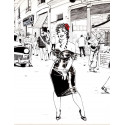 Izquierdo - Sérigraphie Rosa de La Habana Extrait