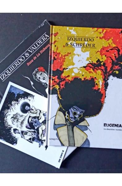 Izquierdo Pack 2 albums + Ex-libris