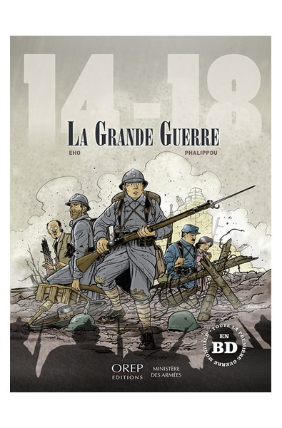 Jérome Phalippou, 14-18 La grande guerre, Editions OREP