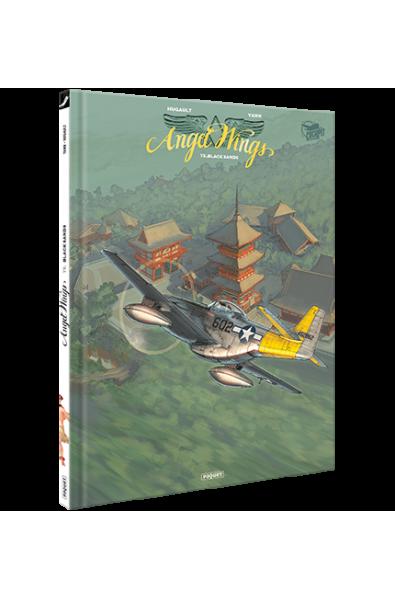 Romain Hugault, Angel Wings T5, TL, Black Sands, Editions Paquet