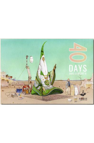 Moebius, 40 Days dans le désert, Moebius Production