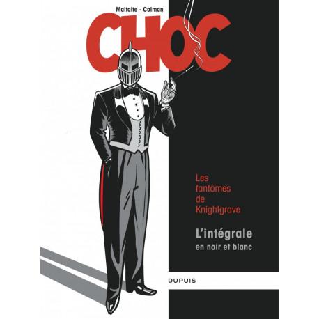 Maltaite, Choc Intégrale N&B, Ed. Dupuis