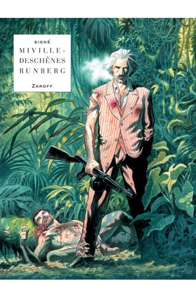 Miville-Deschênes & Runberg, Zaroff, Editions Lombard tirage spécial Brüsel