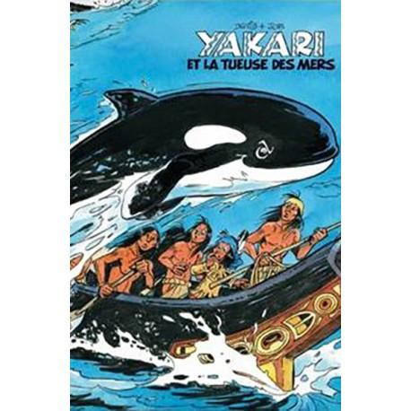 Derib, Yakari, la tueuse des mers