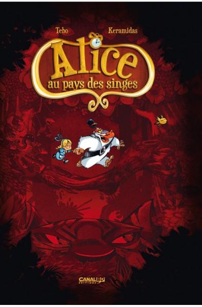 Alice au Pays des Singes, Tebo, Keramidas, CanalBD