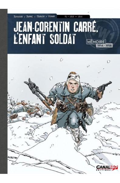 Jean Corentin Carré, L'Enfant Soldat, Bresson, Duval & Chouin, CanalBD