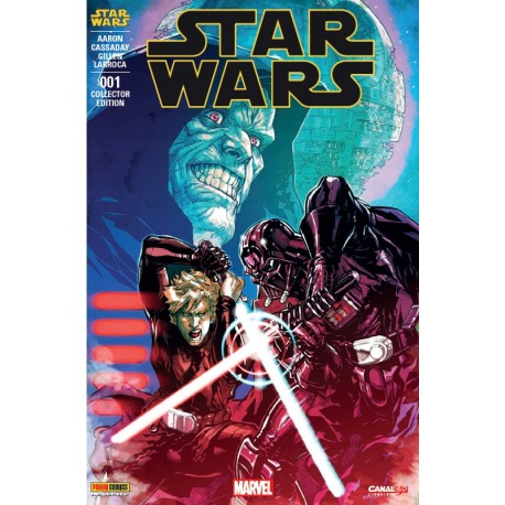 Star Wars, édition Collector n°1, couverture spéciale CanalBD