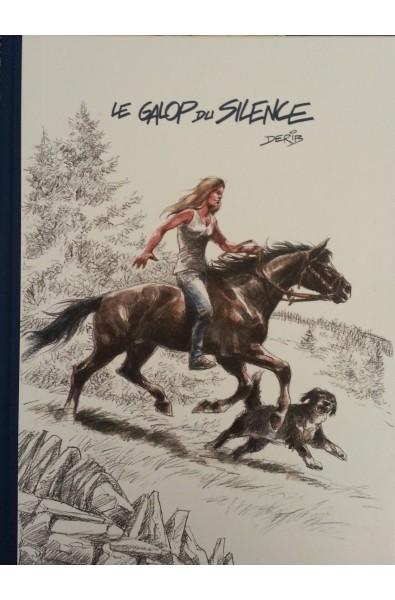 Derib, Le Galop du Silence, Ed AS'Créations