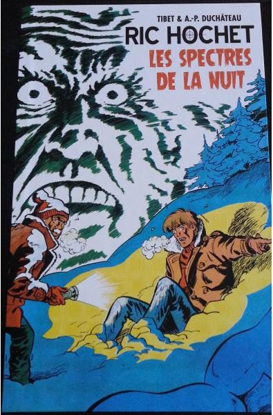 Tibet & A.P Duchâteau, Ric Hochet Les spectres de la nuit, Ed OriginalWatts